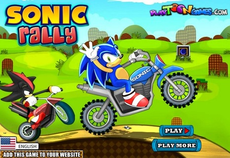 Sonic Rally - Play Your Best Sonic Games | Mario Games | Sonic Games | Scoop.it