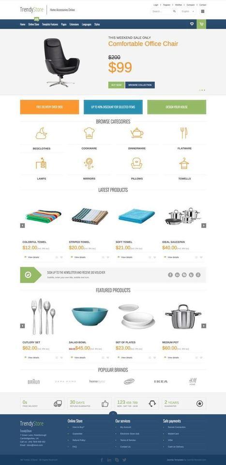 JM Trendy J2Store Joomla Shopping Cart Template | Premium Joomla Templates | Scoop.it