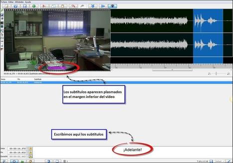 Subtitular vídeos con Jubler | Transcripcion audio-texto | Scoop.it