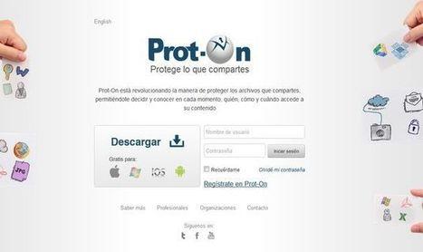 Prot-On, solución gratuita para asumir el control de los accesos a las fotos y documentos que compartes | Tic, Tac... y un poquito más | Scoop.it