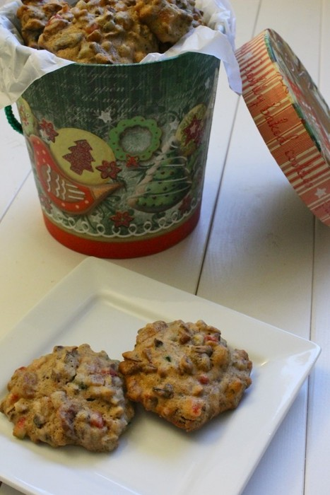 Treats for Santa: Fruitcake Cookies | Food for Foodies | Scoop.it