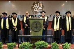 AUAF Welcomes New Class of Students in Convocation Ceremony | U.S. - Afghanistan Partnership | Scoop.it