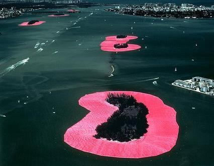 """Christo and Jeanne-Claude: """"Surrounded Islands"""" 