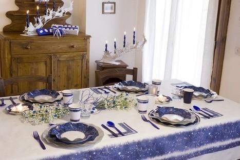 Déco Noël : une table de fête pour une nuit magique ! | Blog RueDeLaFete | deguisement pere noel | Scoop.it