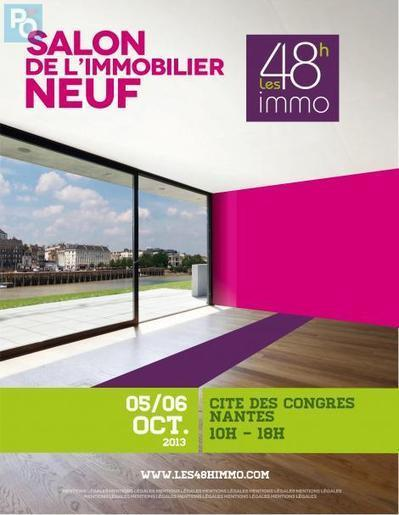 Les 48h immo, c'est ce week-end à Nantes ...!!! | Immobilier | Scoop.it