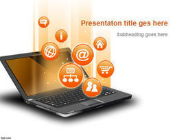 Free Internet PowerPoint Template | Free Powerpoint Templates | Business Training | Scoop.it