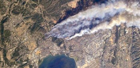 Les incendies dans les Bouches-du-Rhône photographiés depuis l'ISS | Chronique d'un pays où il ne se passe rien... ou presque ! | Scoop.it