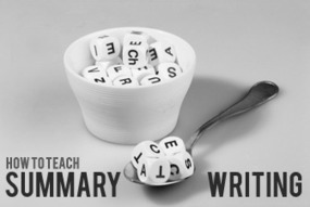 Less is More? How to Teach Summary Writing | Middle School Readers & Writers' Circle | Scoop.it