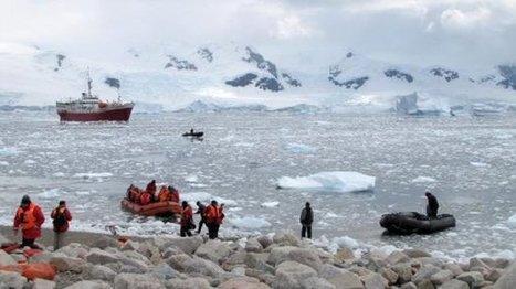 Antarctique: les risques du tourisme dans le continent blanc | Actualités com', pub | Scoop.it