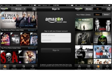 Amazon updates Prime Instant Video for iOS to stream in high definition, no Wi-Fi required | Mobile TV around the world | Scoop.it