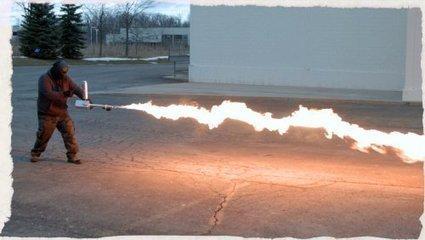 #USA : lance-flamme en vente libre et retour des pelotons d'exécution | Infos en français | Scoop.it