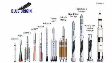 Jeff Bezos unveils towering New Glenn reusable rocket | Space business and exploration | Scoop.it