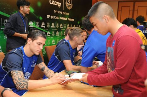Joe Rimmer's Everton in Thailand diary: Blues have carved out quite a niche in ... - Liverpool Echo | Travel Thailand | Scoop.it
