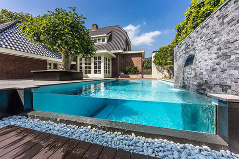 Visually Striking Aquatic Backyard in The Netherlands   Landscaping Design   Scoop.it