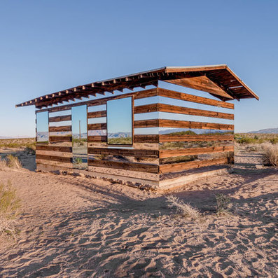 Lucid Stead installation by Phillip K Smith III at a desert cabin | The brain and illusions | Scoop.it