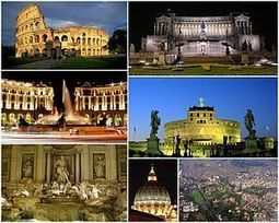 300px-Collage_Rome.jpg (300x240 pixels) | Los Romanos | Scoop.it