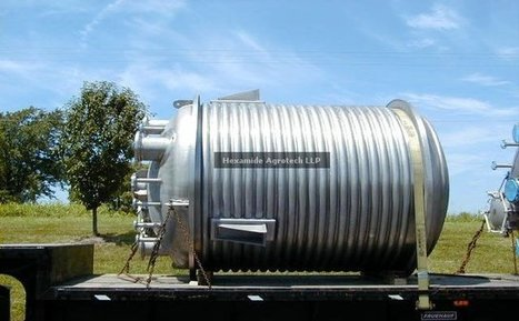 Stainless Steel Chemical Reactors Manufacturer in India, Stainless Steel Reaction Kettle - HEXAMIDE AGROTECH LLP   Chemical Reactor Manufacturer.   Scoop.it