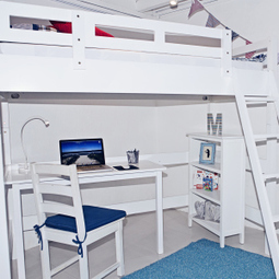 Loft Bed - An Ideal Solution for Kids | Kids Furniture in Singapore | Scoop.it