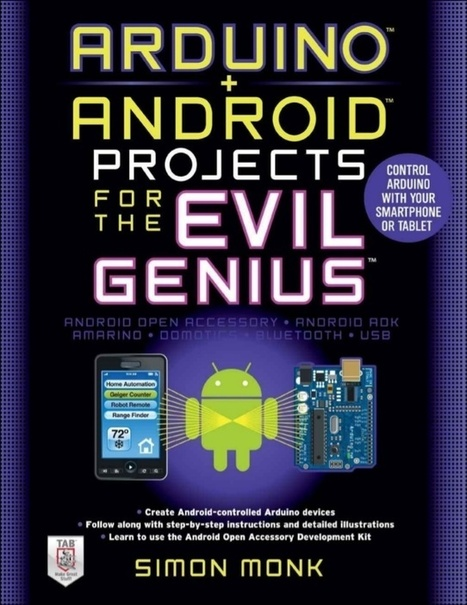 Arduino android projects for the evil genius - | Raspberry Pi | Scoop.it