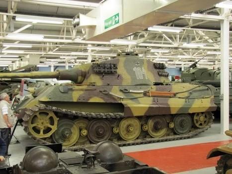 Pz.Kpfw VI Ausf B - WalkAround | History Around the Net | Scoop.it