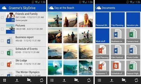 Ya está disponible la app oficial de SkyDrive para Android | Recull diari | Scoop.it