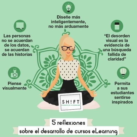 5 reflexiones sobre el desarrollo de cursos eLearning | Personal [e-]Learning Environments | Scoop.it