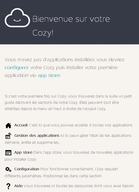 CozyCloud : Le cloud CONFORTABLE… à la française ! | Blog technophile tfrichet.fr | Machines Pensantes | Scoop.it