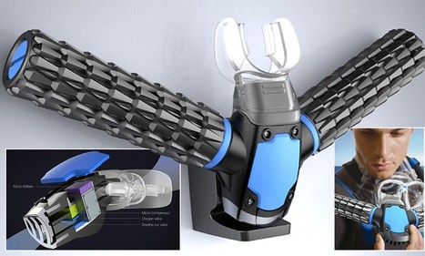 Gadget that turns you into a FISH: Triton extracts oxygen from water | Aw3some Pr0ducts | Scoop.it