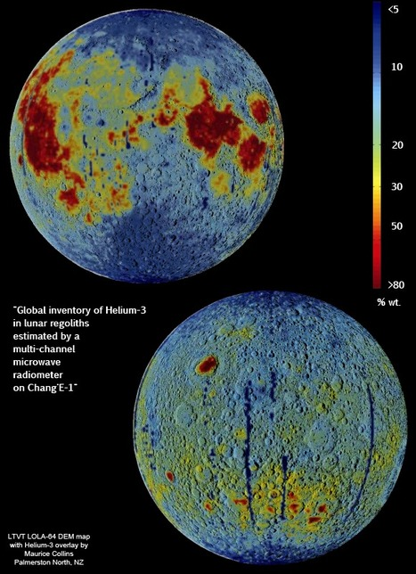 Lunar Pioneer: New map of lunar titanium and Iron presented | Planets, Stars, rockets and Space | Scoop.it