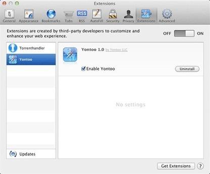 Yontoo, le méchant publiciel qui s'accroche à votre navigateur (Mac OS)   Libertés Numériques   Scoop.it