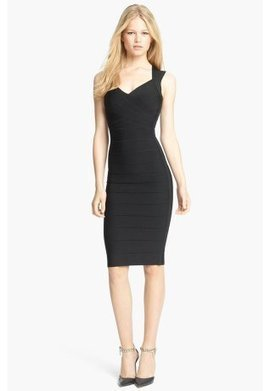 Herve Leger Black V Neck Cutout Back Bandage Dress [Black V Neck Bandage Dress] - $172.00 : Cheap Herve Leger Bandage Dresses, 60% off Herve Leger Clothing Online | cheap herve leger | Scoop.it