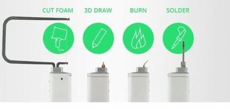 3DSimo présente son mini-stylo pour dessiner en 3D, découper, graver et souder | Actinnovation | Ressources pour la Technologie au College | Scoop.it