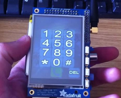 Raspberry Pi used to create £90 smartphone | Raspberry Pi | Scoop.it