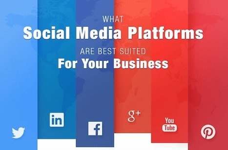 What Social Media Platforms are Best for YOUR Business? [INFOGRAPHIC] - Juntae DeLane | Social Media Marketing | Scoop.it