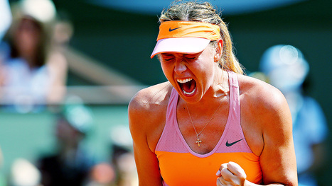Sharapova outlasts Halep, wins French Open | Roland Garros | Scoop.it