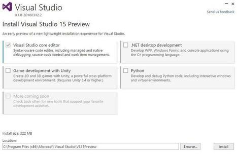 Here's what's inside Microsoft's private preview of Visual Studio next | ZDNet | News de la semaine .net | Scoop.it