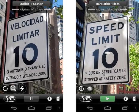 Word Lens, el traductor en realidad aumentada, llega a Android « El Android Libre | Realidad aumentada | Scoop.it