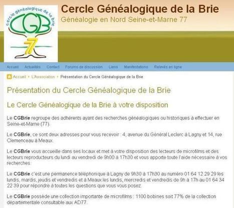 Exposition du CGMA 11 juin 2016 | Cercle Genealogique de Maisons-Alfort | CGMA Généalogie | Scoop.it