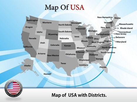 Get Online Editable US map PowerPoint Template- Powerpointmapsonline.com | PowerPoint Maps | Scoop.it