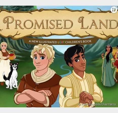 Promised Land : le livre de conte de fées qui met à l'honneur deux princes gays | littérature jeunesse | Scoop.it