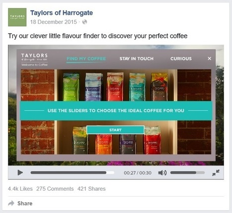 Facebook and Instagram launch interactive videos for brands | Netimperative - latest digital marketing news | Digital Insights | Scoop.it
