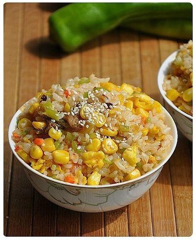 อาหารเพื่อสุขภาพข้าวผัดธัญพืช สีเหลืองทอง | yanisa | Scoop.it