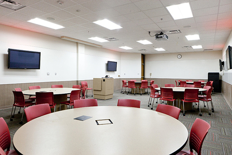 6 Secrets of Active Learning Classroom Design -- Campus Technology | Teaching and Learning Resources for Faculty | Scoop.it