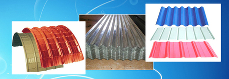 Bare Galvalume Roofing Sheets  Metal Sheet Suppliers In Chennai   www.sriramanaenterprises   Scoop.it