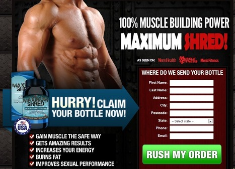Maximum Shred Review - GET FREE TRIAL SUPPLIES LIMITED!!! | Best Body Building Supplement | Scoop.it