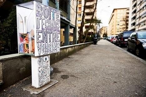 Happy City Lab : des boîtes d'échange entre voisins | coopération, collaboration, participation et développement durable | Scoop.it