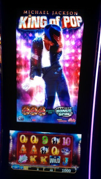 Michael Jackson King Of Pop Slot Machine - WMS Gaming Slots