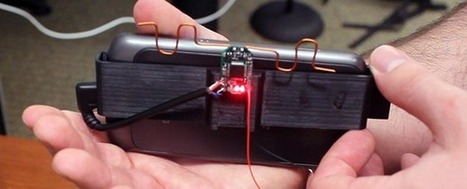 Battery-free Gesture Control Interface Needs No Line Of Sight   Tech the Future   Open Source Hardware News   Scoop.it