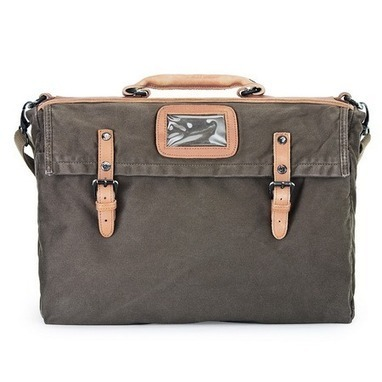 Distressed canvas bike messenger briefcase bags | Womens fashion | Scoop.it
