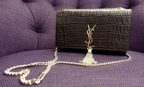 I Got My Crocodile-Embossed Saint Laurent Bag | FBESHOP | Scoop.it